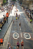 De Marathon van Londen Stock Foto