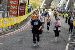 De Marathon van Londen Stock Fotografie