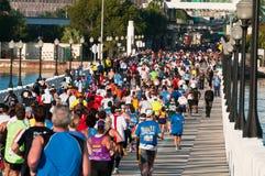 De Marathon van Miami Stock Afbeelding