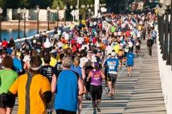 De Marathon van Miami Stock Afbeeldingen