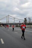 De marathon van Moskou Stock Foto
