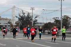 De marathon van Moskou Royalty-vrije Stock Afbeelding