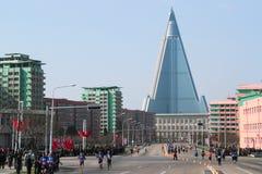 De Marathon van Noord-Korea royalty-vrije stock foto's