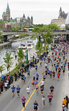 2013 de Marathon van Ottawa Royalty-vrije Stock Foto