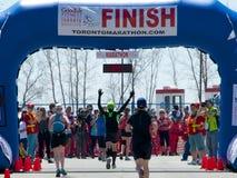 De Marathon van Toronto royalty-vrije stock afbeelding