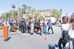 De marathon van vrouwen in Palma Royalty-vrije Stock Afbeeldingen