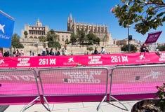De marathon van vrouwen in Palma Stock Foto