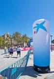 De marathon van vrouwen in Palma Stock Foto's