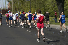 De marathon Wroclaw Royalty-vrije Stock Foto
