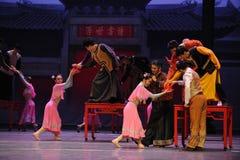 De mariage de banquet-Le acte d'abord des événements de drame-Shawan de danse du passé Photo libre de droits