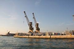 De mariene haven is in Venetië, Italië royalty-vrije stock afbeelding