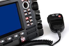 De mariene radio van de grafiekplotter VHF Royalty-vrije Stock Foto's