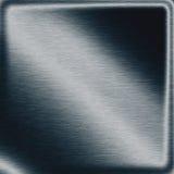 De marineblauwe raad metaal van de achtergrondtextuur donkere plaat als moderne frame grens royalty-vrije illustratie