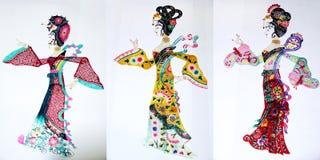 De marionet van de schaduw Royalty-vrije Stock Foto's