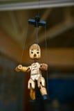 De marionet van Pinocchio Stock Afbeelding