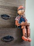 De marionet van Pinocchio Royalty-vrije Stock Fotografie