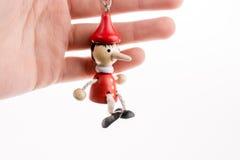 De marionet van Pinocchio Stock Foto's