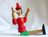 De marionet van Pinocchio royalty-vrije stock foto's