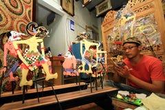 De Marionetten van ambachtwayang Stock Foto