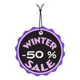 De markering van de de winterverkoop Royalty-vrije Stock Foto's