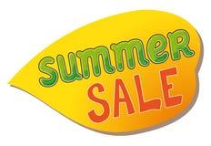De markering van de de zomerverkoop. Stock Afbeeldingen