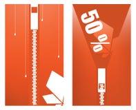 De Markering van de verkoop stock illustratie