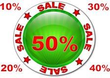 De markering van de verkoop Royalty-vrije Stock Fotografie