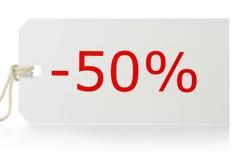 De markering van de verkoop royalty-vrije stock foto
