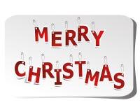 De markering van Kerstmis Royalty-vrije Stock Afbeelding