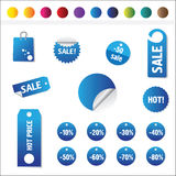 De Markeringen van de verkoop Royalty-vrije Stock Fotografie