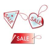 De markeringen van de verkoop Stock Afbeeldingen