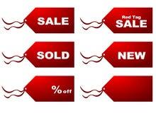 De markeringen van de verkoop Royalty-vrije Stock Foto