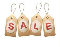 De markeringen van de verkoop Concept korting het winkelen Royalty-vrije Stock Afbeeldingen