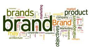 De markeringen van het merk Stock Foto's