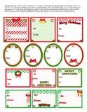 De Markeringen van Kerstmis Royalty-vrije Stock Fotografie