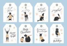 De markeringsinzameling van Kerstmis Stock Foto's