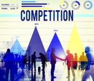 De Marketing van Compettioncompettitive het Concept van de Rasoplossing stock fotografie