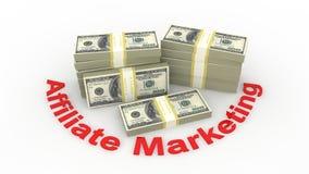 De marketing van het filiaal stock illustratie