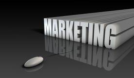 De Marketing van Internet vector illustratie