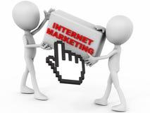 De marketing van Internet royalty-vrije illustratie