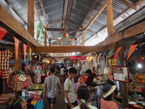 De marketing van 100 jaar in Chachoengsao, Thailand Stock Afbeeldingen