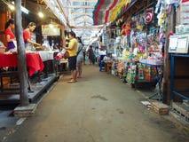 De marketing van 100 jaar in Chachoengsao, Thailand Stock Foto