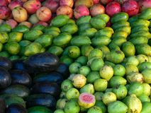 De marketing van vruchten stock afbeelding