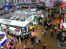 De Markt 2010 van de Invoer en van de Uitvoer van China - Voertuig Royalty-vrije Stock Fotografie