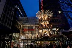 De markt Berlijn van Kerstmis Stock Foto
