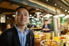 De markt Kyoto Japan van het Nishikivoedsel royalty-vrije stock foto
