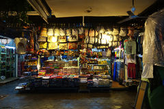 De markt in Siem oogst, Kambodja Royalty-vrije Stock Foto
