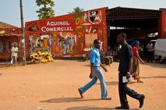 De markt van Afican Stock Afbeeldingen