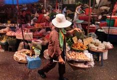 DE MARKT VAN AZIË THAILAND CHIANG MAI Royalty-vrije Stock Afbeelding