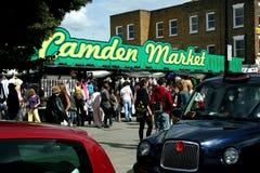 De Markt van Camden in Londen stock afbeelding
